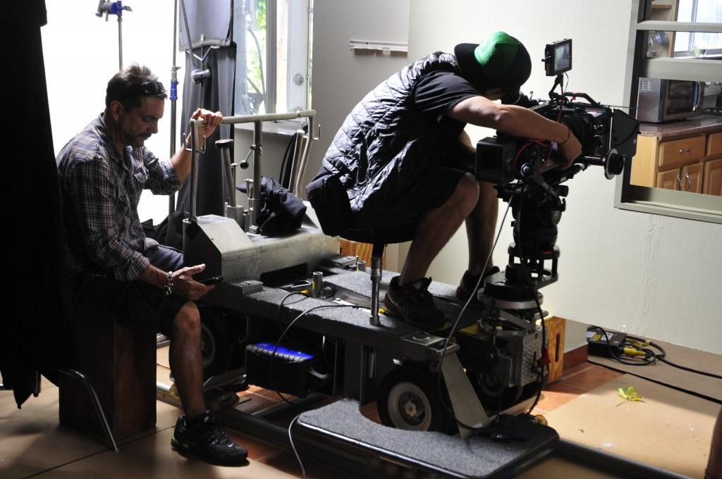 Videographer Prepping Camera Gear 211