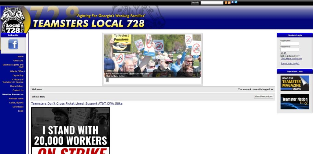 Atlanta Film Unions and Guilds - Teamsters Local 728