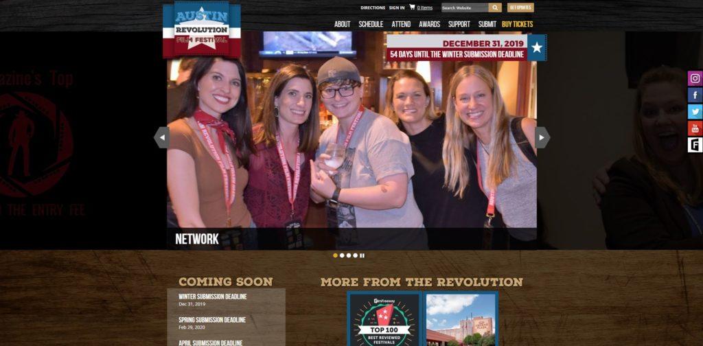 Austin Film Festivals - Austin Revolution Film Festival