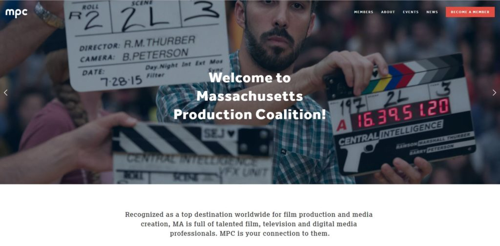 Boston Film Unions and Guilds - Massachusetts Production Coalition