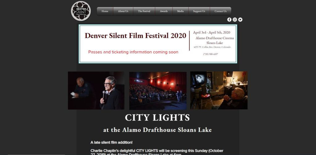 Denver Film Festivals - Denver Silent Film Festival