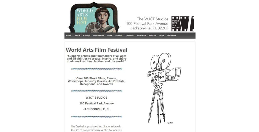 Jacksonville Film Festivals - World Arts Film Festival