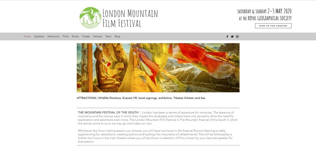 London Film Festivals - London Mountain Film Festival