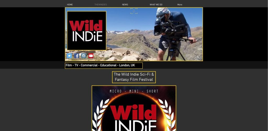 London Film Festivals - Wild Indie Sci-Fi & Fantasy Short Film Festival