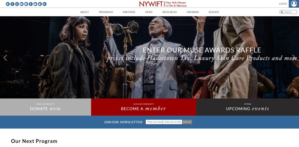 New York Film Unions and Guilds - New York Women in Film & Television