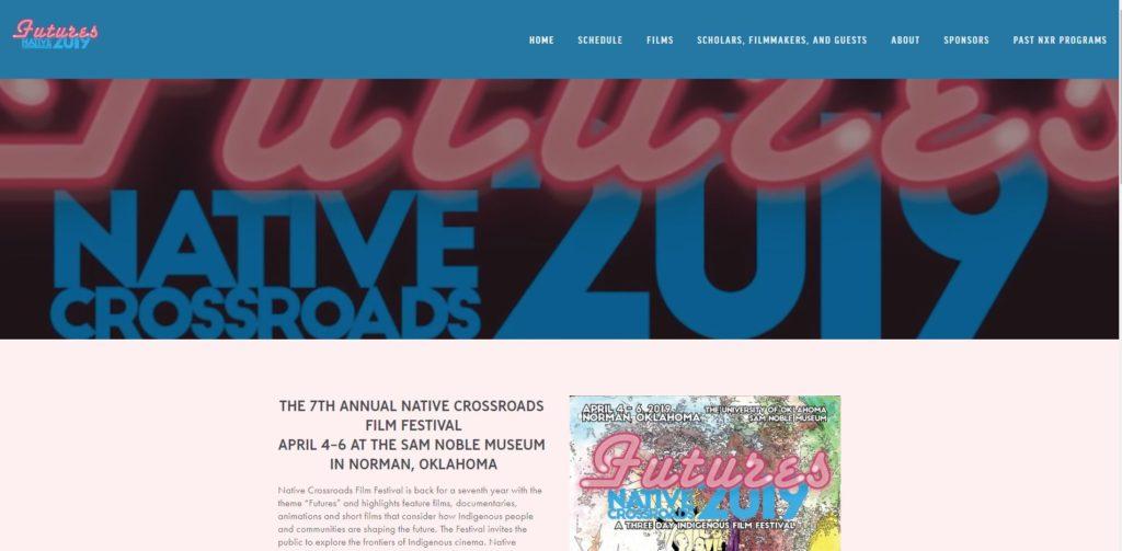 Oklahoma City Film Festivals - Native Crossroads Film Festival