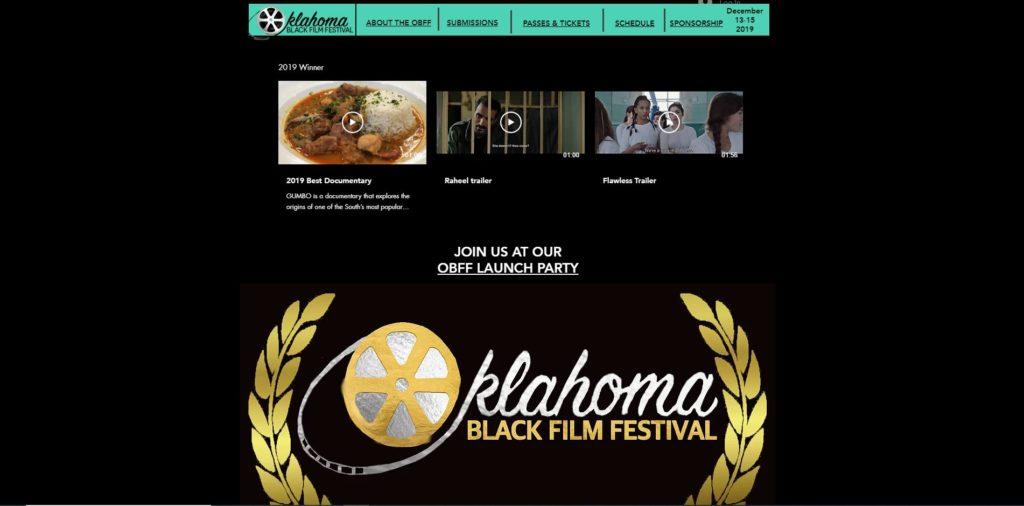 Oklahoma City Film Festivals - Oklahoma Black Film Festival