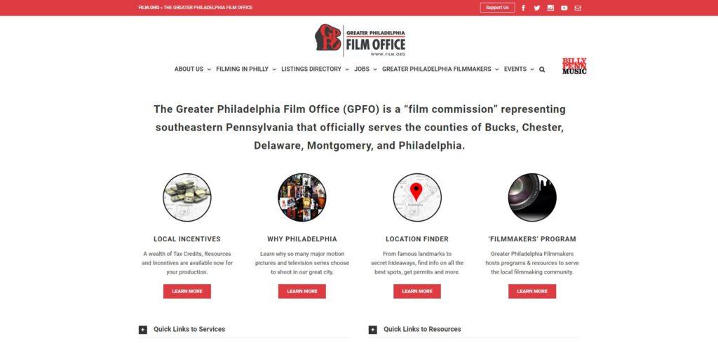 Philadelphia Film Unions and Guilds - Greater Philaelphia Film Office