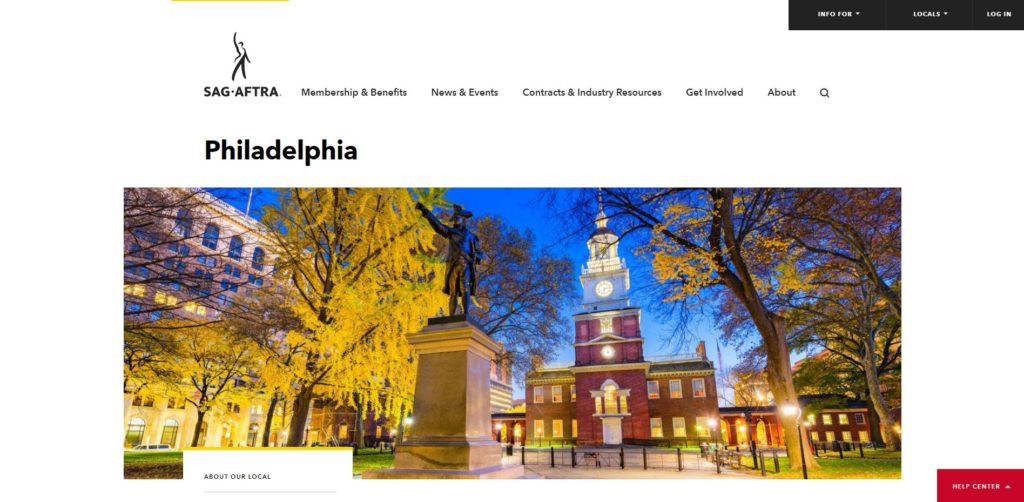 Philadelphia Film Unions and Guilds - SAG-AFTRA of Philly