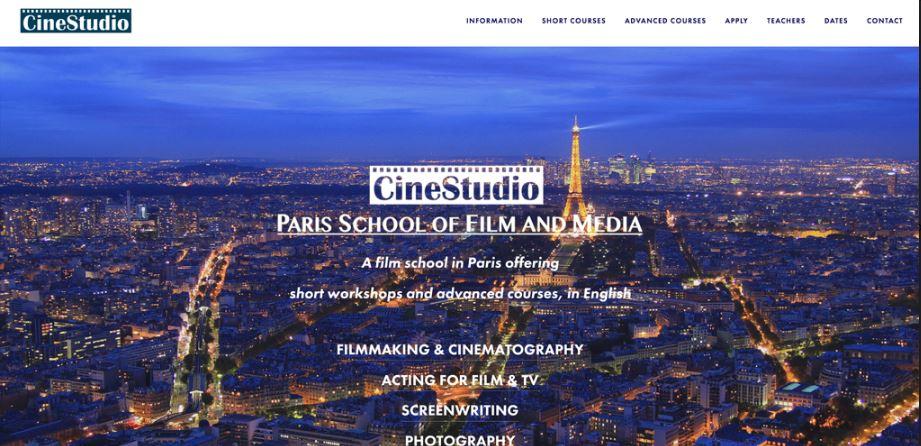 CineStudio - Paris School of Film and Media