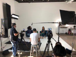 camera Interview Setup