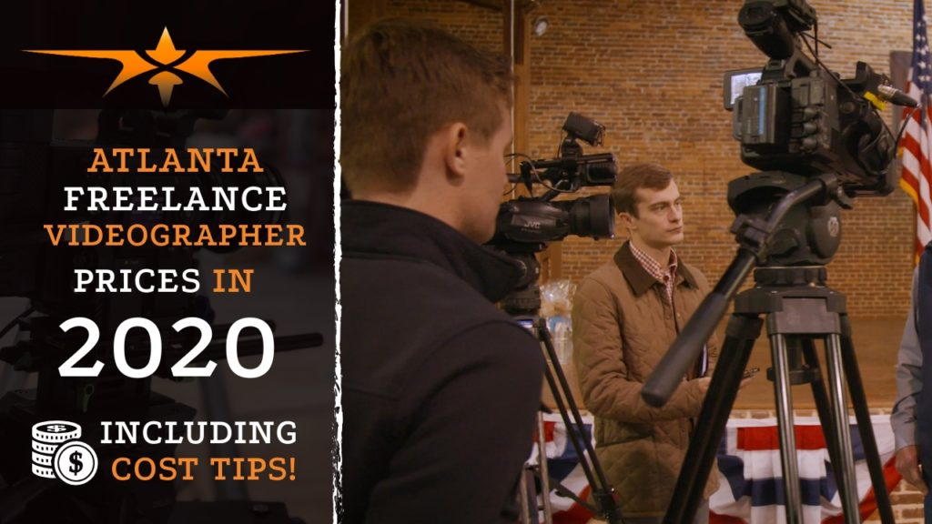 Atlanta Freelance Videographer Prices in 2020
