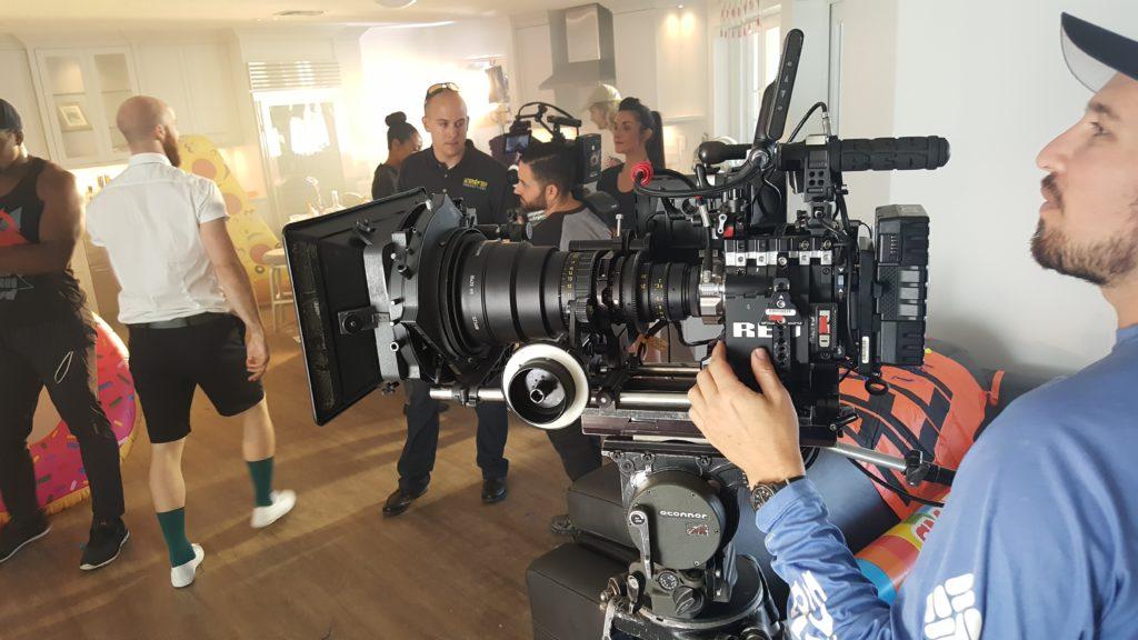 Videographer Prepping Camera Gear 229