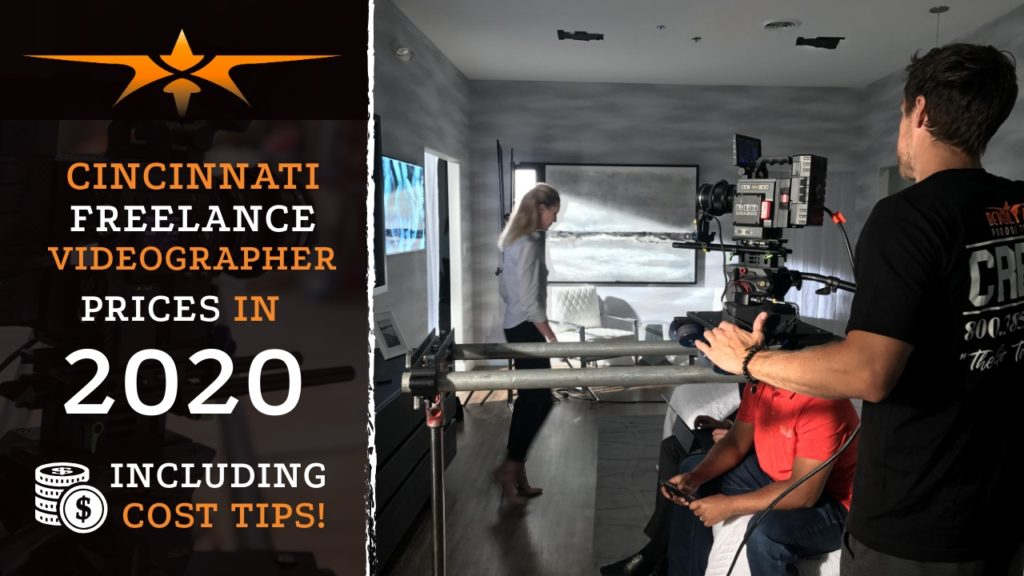 Cincinnati Freelance Videographer Prices in 2020