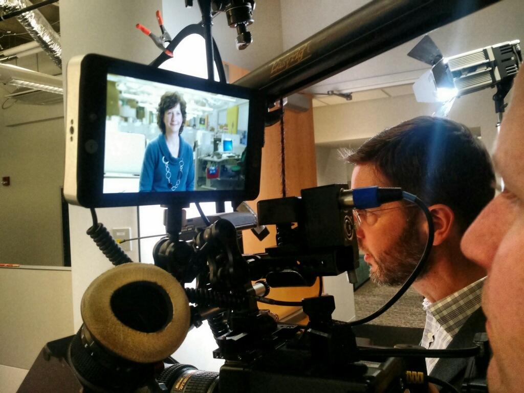Videographer Prepping Camera Gear 234