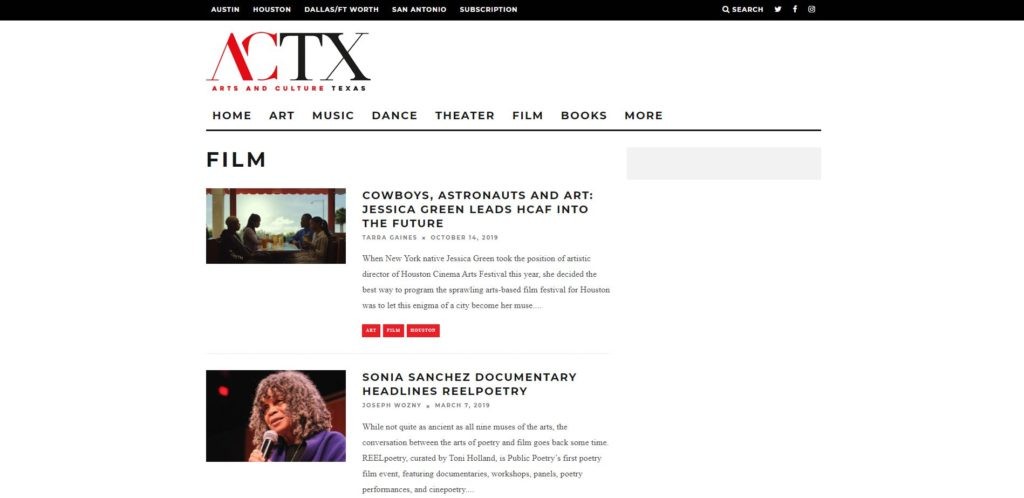 Houston Film Unions and Guilds - Arts and Culture Texas