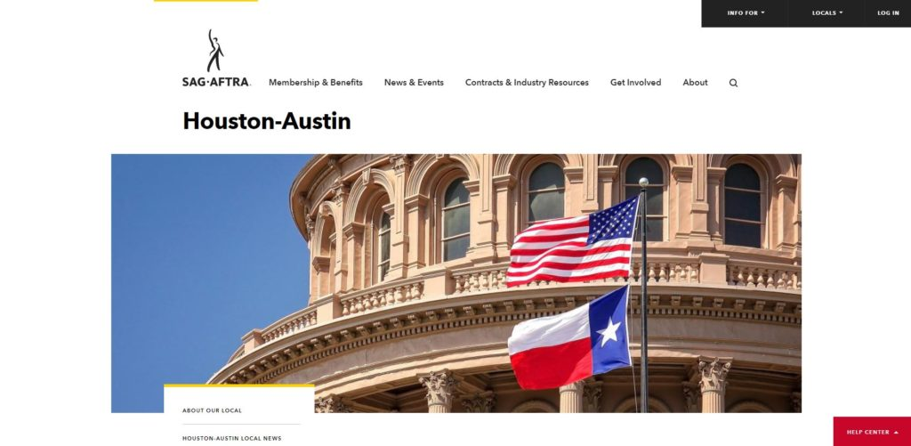 Houston Film Unions and Guilds - SAG-AFTRA of Houston-Austin