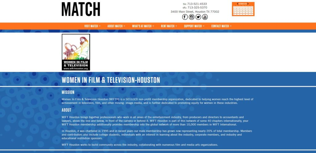 Houston Film Unions and Guilds - Women in Film and Television-Houston