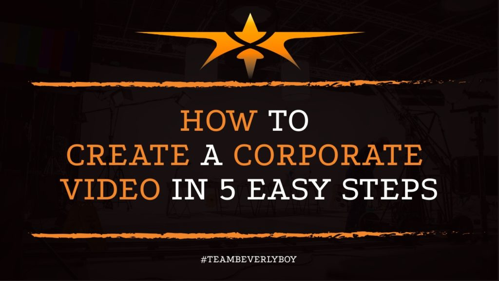 How to Create a Corporate Video in 5 Easy Steps