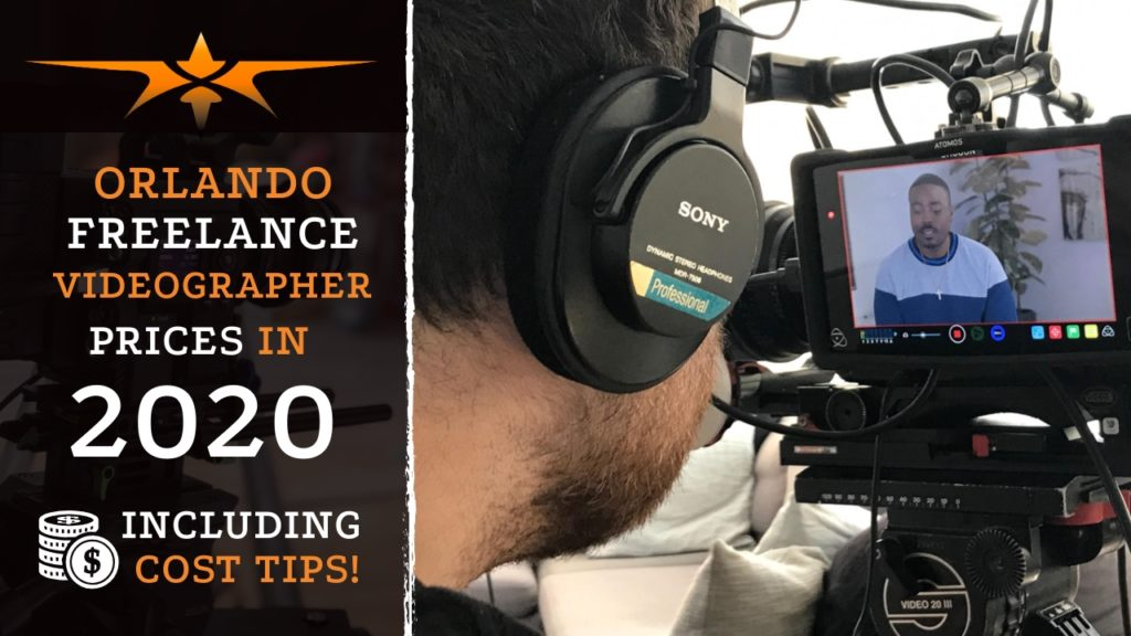 Orlando Freelance Videographer Prices in 2020