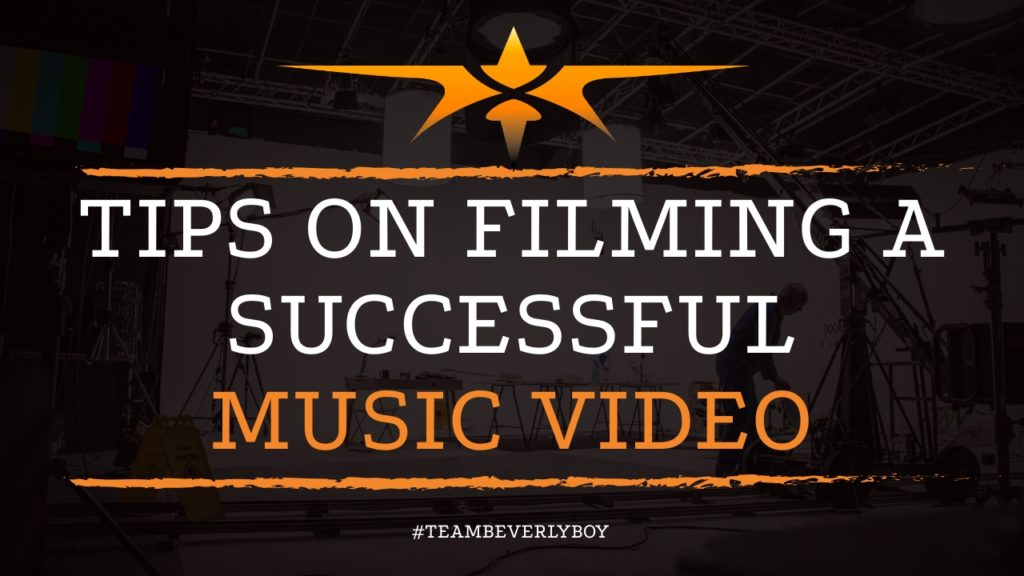 Tips on Filming a Successful Music Video
