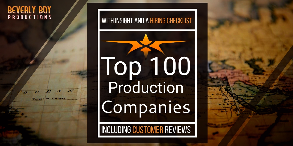 Top 100 Video Production Companies in the World