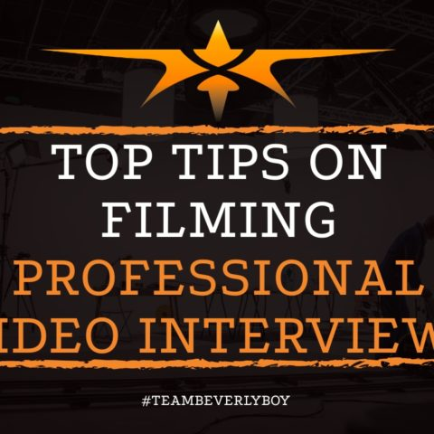 Top Tips on Filming Professional Video Interviews