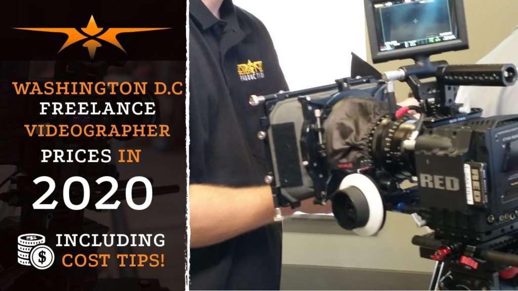 Washington D.C. Freelance Videographer Prices in 2020