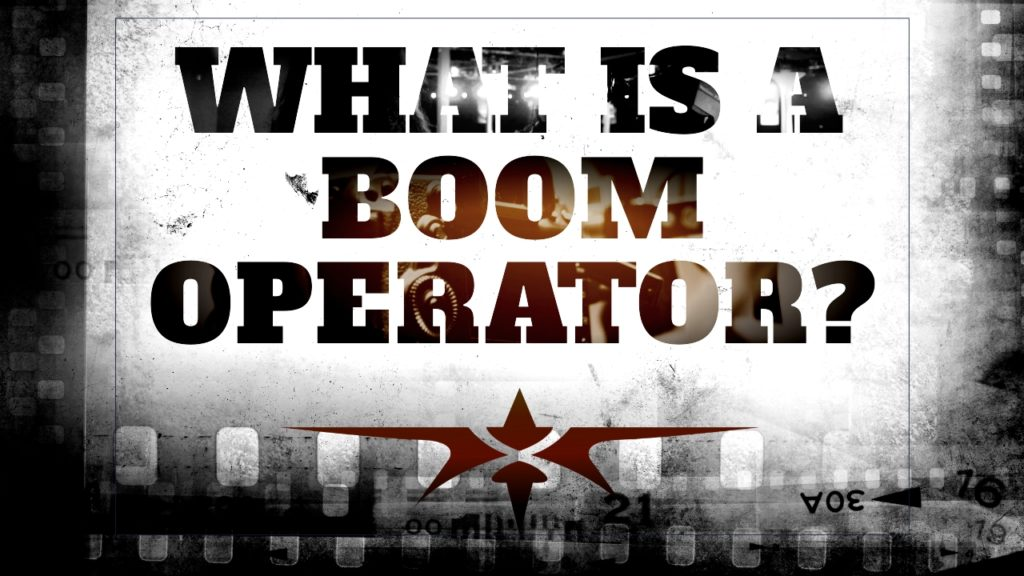 What is a Boom Operator