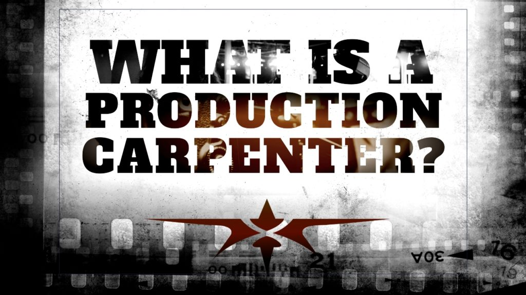 What is a Production Carpenter