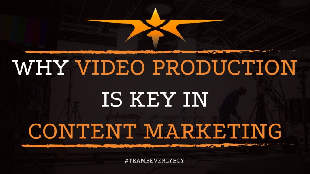 Why Video Production is Key in Content Marketing