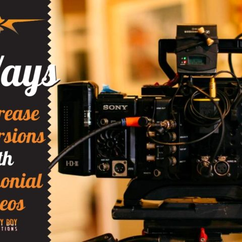 Increase Conversions with Testimonial Videos