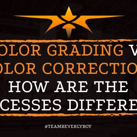 Color Grading vs Color Correction- How are the Processes Different