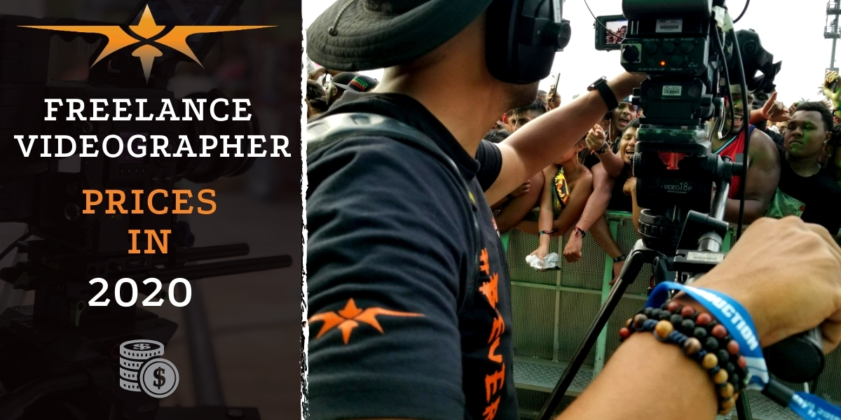 Freelance Videographer prices in 2020
