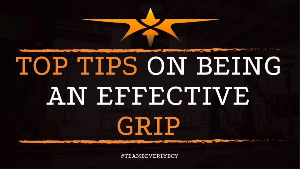 Top Tips on Being an Effective Grip