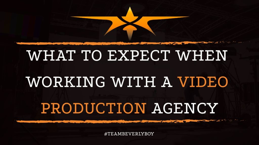 What to Expect When Working with a Video Production Agency
