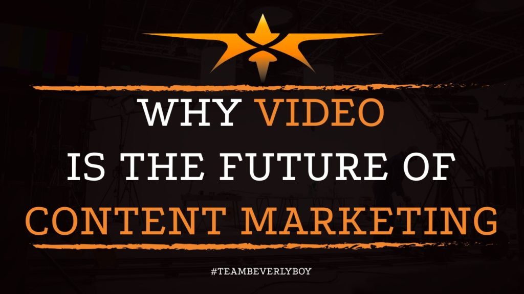 Why Video is the Future of Content Marketing