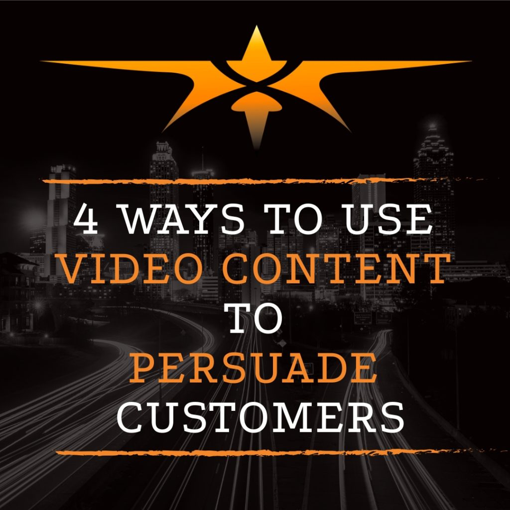 Title 4 Ways to Persuade Customer with Video Content