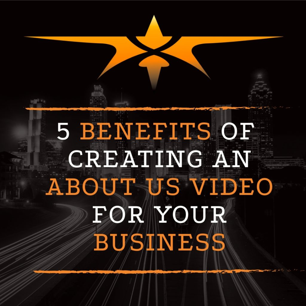 title benefits of creating about us videos