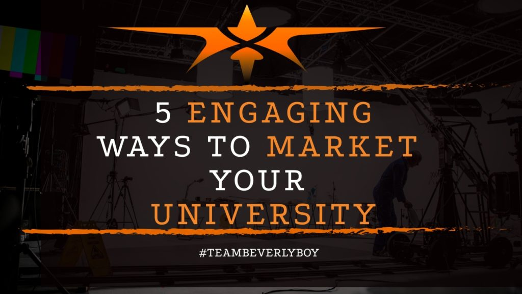 title 5 ways to market University