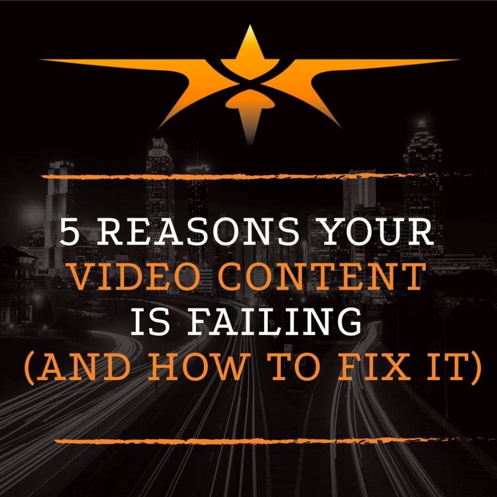 Title 5 Reasons Video Content is Failing