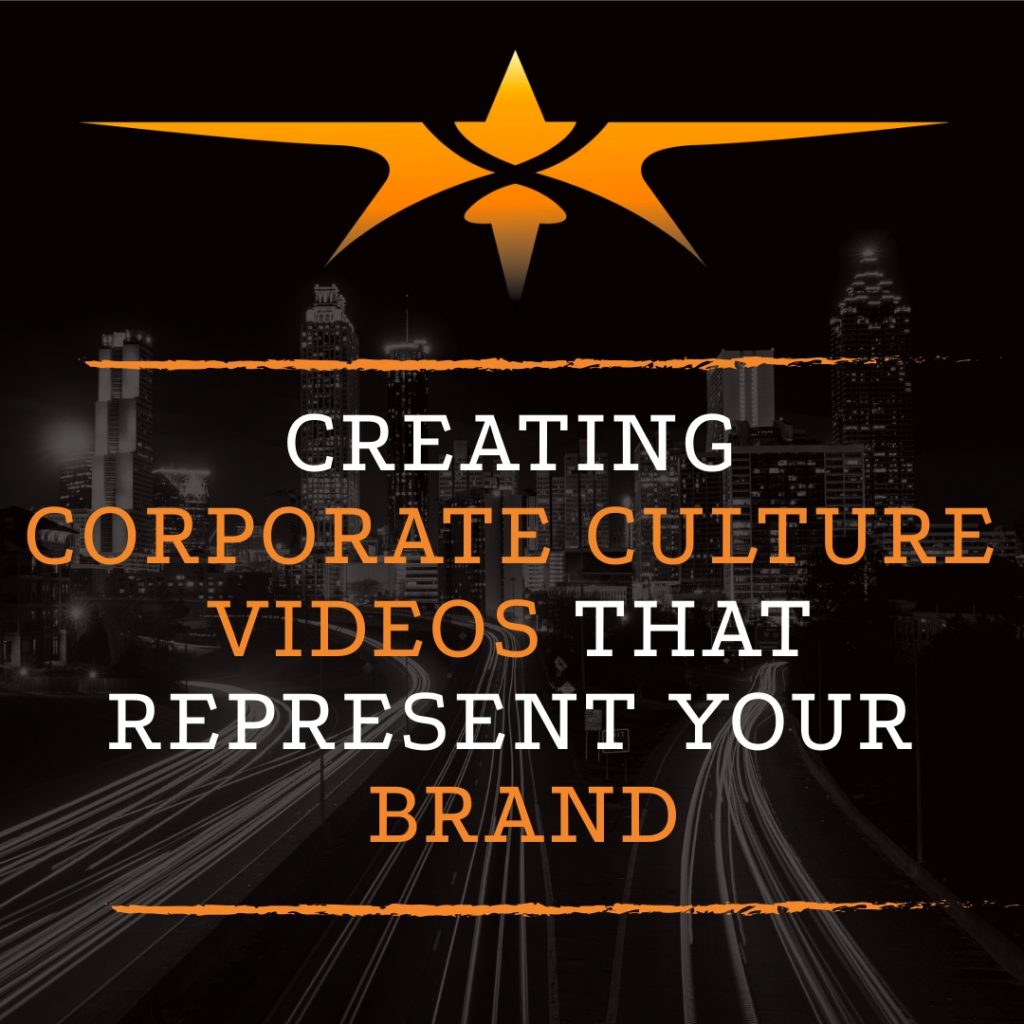 Title Creating Corporate Culture Videos Represent Brand