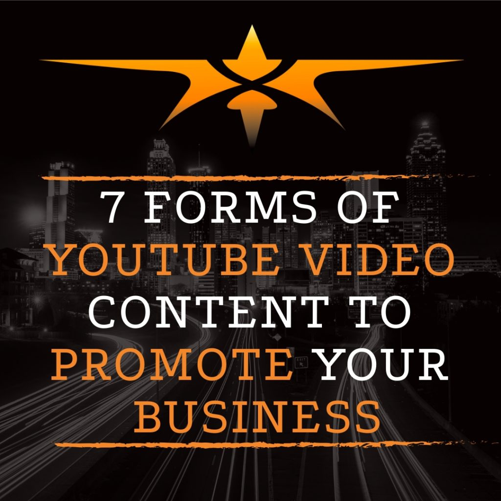 title 7 forms Youtube Video Content to Promote Business