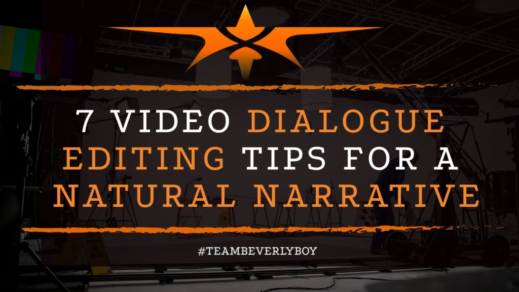 title video dialogue editing tips