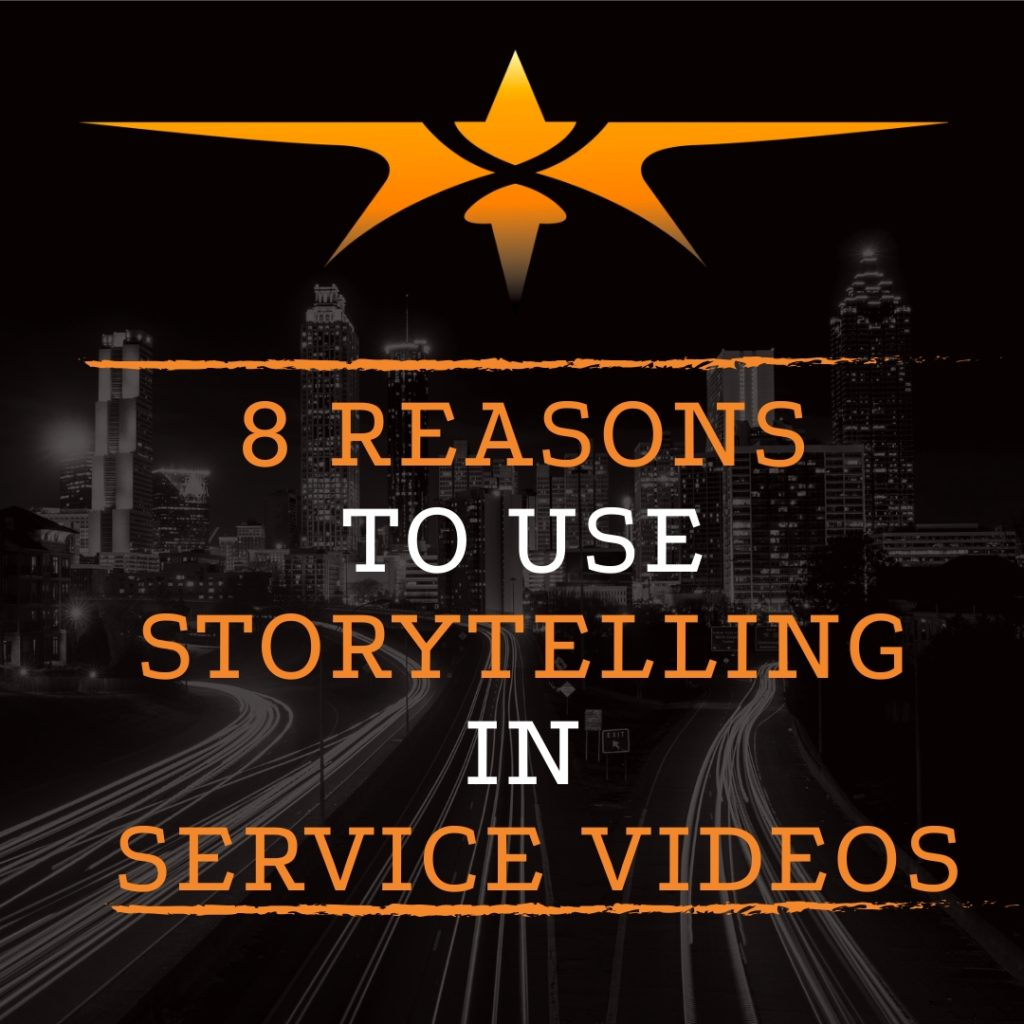 Title Reasons to Use Video Storytelling in Service Videos