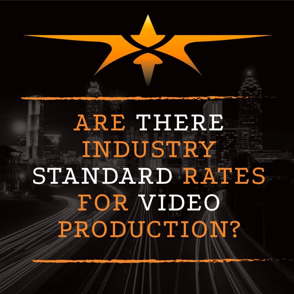 Are There Industry Standard Rates for Video Production?