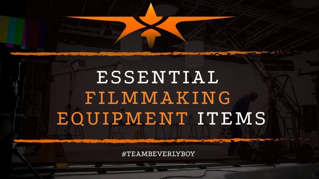 title essential filmmaking equipment