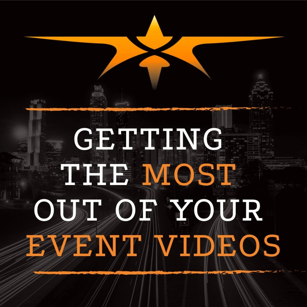 title get the most out of event video production