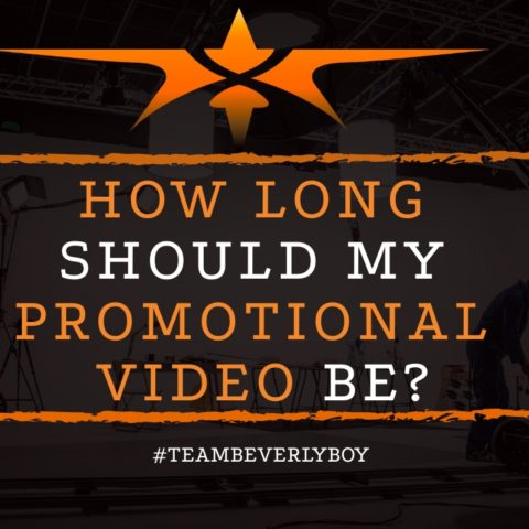 title how long should my promotional video be