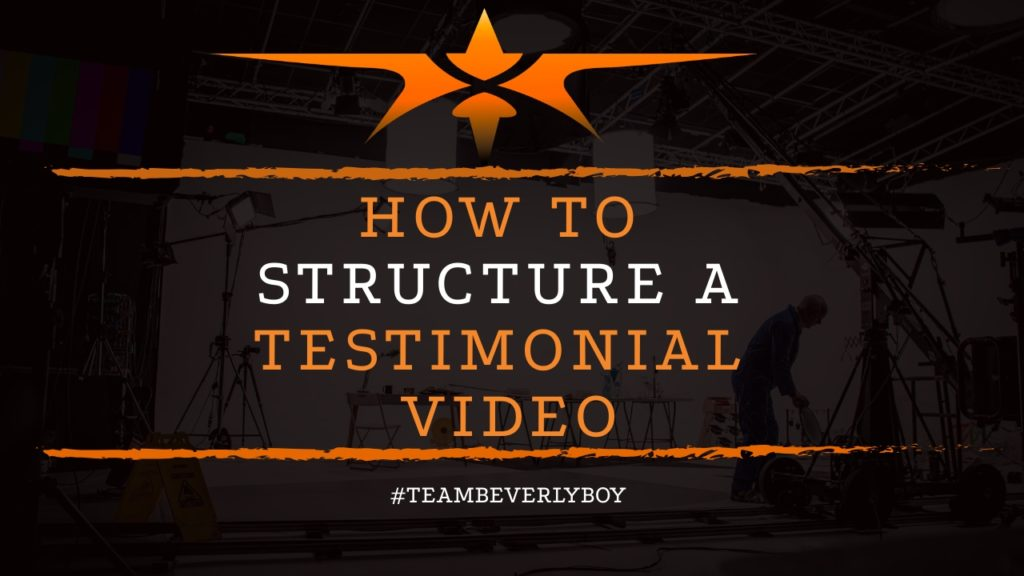 title how to structure testimonial videos